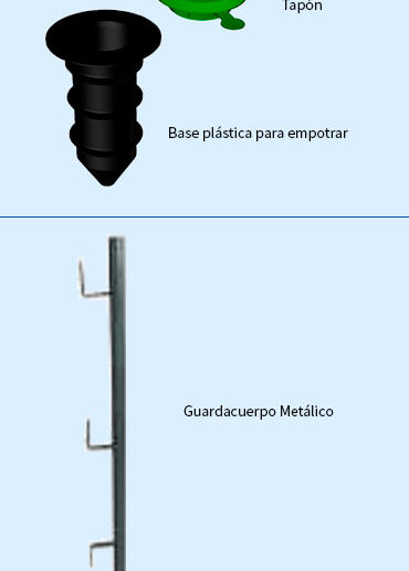 componente-de-barandilla-o-guarda-cuerpo